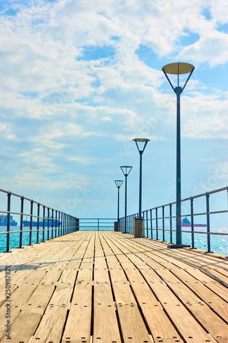 Pier in Limassol © Roman Sigaev