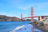 Golden Gate Bridge - Marshall's Beach POV
