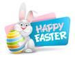Easter Label - 251041686