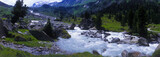 valley sulzbachtal, grossvenediger, salzburg, austria