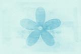Star Blue Tone Icon Texture Art Background Pattern Design Graphic
