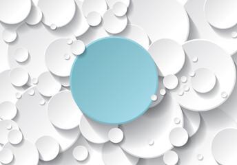 fond cercle bleu et blanc © Baillou