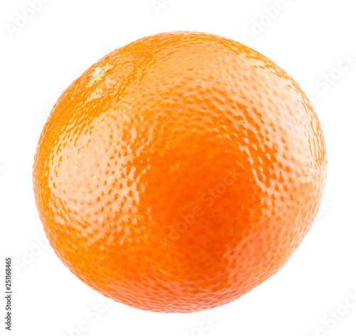 tangerine isolated on a white background - 251168465