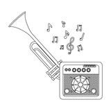 music elements cartoon