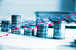 finanza, monete, grafico, economia, affari, guadagni,