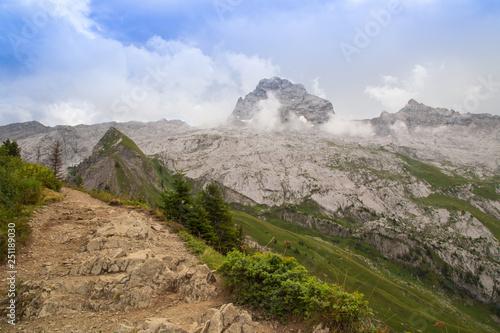 Montagne - Pointe Percée © L.Bouvier