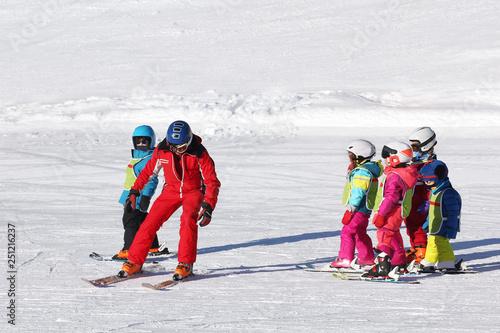 mata magnetyczna Cours de ski enfants-4327