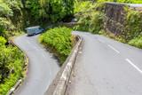 Fototapeta Natura - Route des Thermes, cirque de Cilaos, île de la Réunion  © Unclesam
