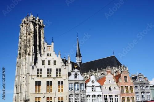 obraz lub plakat Malines : Cathédrale Saint-Rombaut (Belgique)