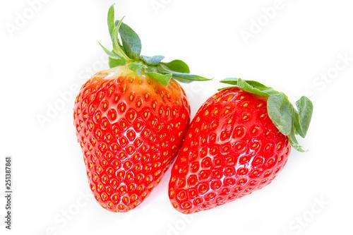 Leinwandbild Motiv fraise