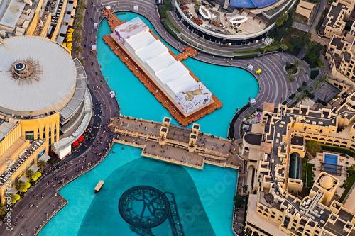 mata magnetyczna building architecture, UAE Dubai Mall Fountain Show