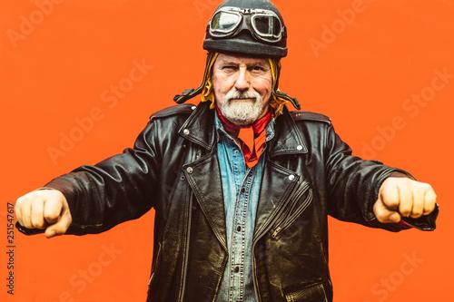 Image result for old biker