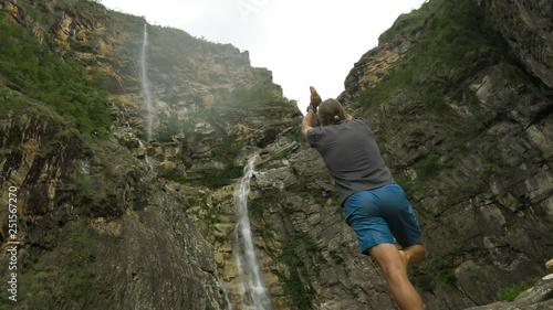Cachoeira Rabo de Cavalo (Horsetail Waterfall) in Conceição do Mato Dentro, Minas Gerais, Brazil © Marcelo