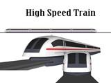 illustration of train on white background