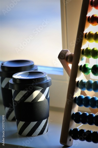 An Image of a abacus, coffee - 251752898