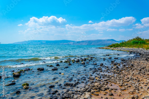 Sea of Galilee in Israel