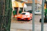 Maranello, Italy - 03 26 2013: View of the streets of Maranello.