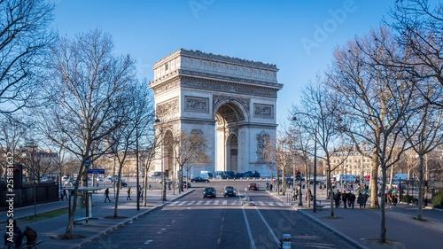 mata magnetyczna Arc de Triomphe, Paris, France