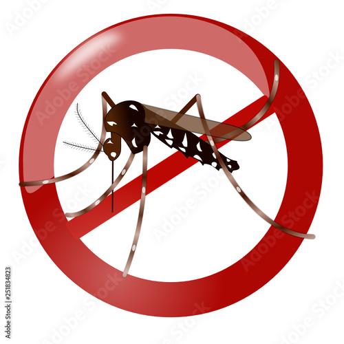 Stop aux moustique - 251834823