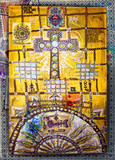 Celtic and ethnic cross