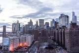 Fototapeta Nowy York - New York City panorama skyline at sunrise © dima