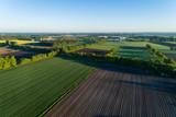 Fototapeta Natura - Landschaft in Deutschland aus der Luft © Christian Schwier