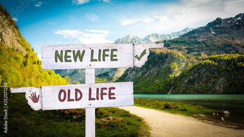 Sign 378 - NEW LIFE
