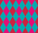 Seamless geometric pattern. Rhombus background. Vector illustration.  - 252132605
