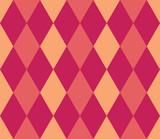 Seamless geometric pattern. Rhombus background. Vector illustration.  - 252132647