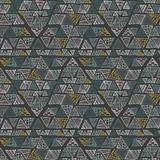 Ethnic seamless pattern. Tribal background. Vector illustration. - 252133606
