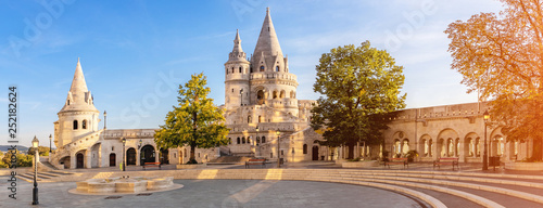 mata magnetyczna View at the Fisherman's Bastion, Budapest (panoramic)