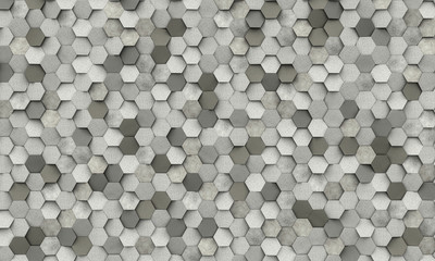 geometric hexagon shape