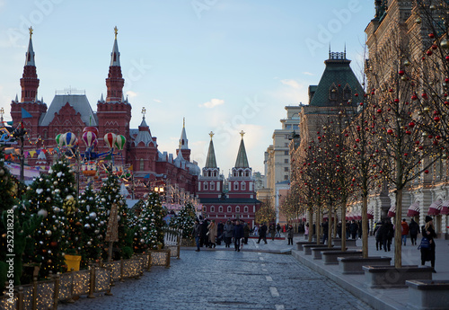 obraz PCV Moscow Red Square