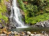 scenic waterfall in Bali
