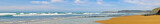 Panorama from Vale Figueiras beach in Portugal