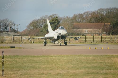 obraz PCV Typhoon scramble, air defence