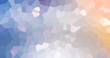 "Постер, картина, фотообои ""Abstract low poly mosaic shapes background illustration"""