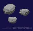 Meteor Terminology Meteoriod Vector Illustration