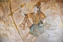 """Постер, картина, фотообои """"Fresque du temple de Thanjavur, Inde du Sud"""""""