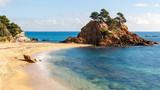 Cap Roig, a Prominent Sea Stack in Costa Brava, Catalonia