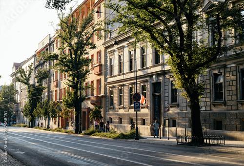 obraz PCV Krakow Streets