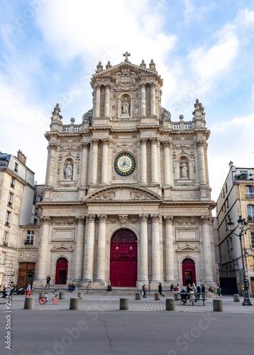Saint-Paul-Saint-Louis church in Paris, France