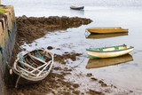 Boats in a Pier in Oranmore, Galway bay