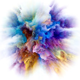 Depth of Color Splash Explosion