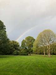 rainbow at the park