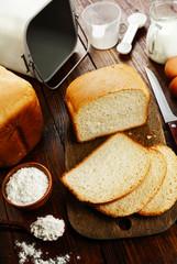 Homemade wheat bread