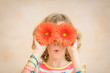 Happy child having fun on summer holidays - 252615422
