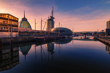 Bremerhaven Sunset-Panorama