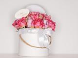 Fototapeta Tulips - bukiet kwiatów © rarchitekt