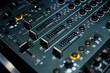 disc jokey dj audio mix pult